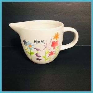 RAE DUNN BLOOM & ENJOY THE LITTLE THINGS CREAMER